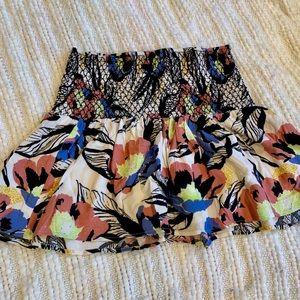 🌼🌸 Free people flowy mini skirt - NWOT❗️